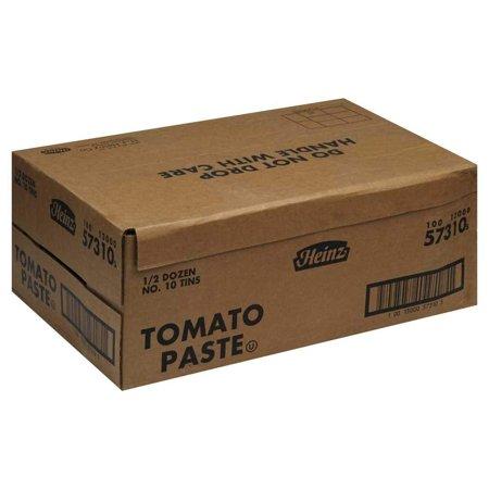6 PACKS : Heinz Tomato Paste no.10 Can, 6 Per Case