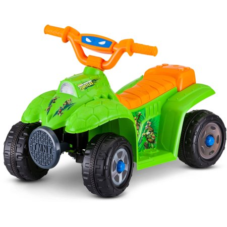 Kid Trax 6V Teenage Mutant Ninja Turtle Quad Ride-On for $<!---->