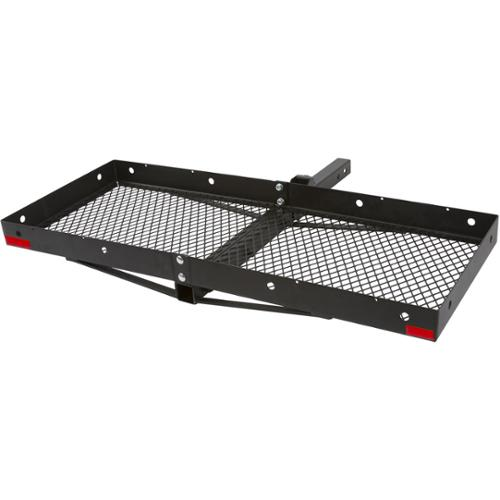 """Folding Hitch Bumper Cargo Carrier Tray for 2"""" Class III or IV Receivers"""