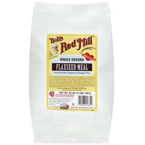 Bob's Red Mill Whole Ground Flaxseed Meal, 32 oz (Pack of 4)