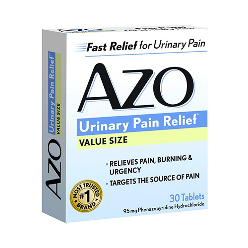 Azo Standard Urinary Pain Relief Tablets - 30 Ea
