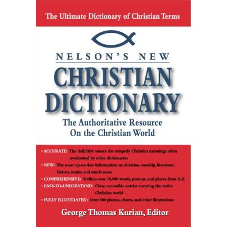 Nelsons New Christian Dictionary - eBook