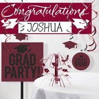 Graduation School Spirit 11-Piece Decoration Kit (Click to Select Color)