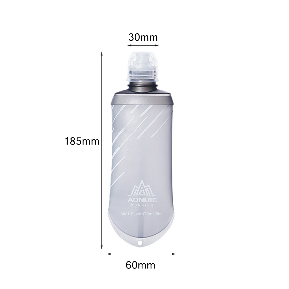 AONIJIE TPU Folding Soft Flask SportS Water Bottle for Running Camping Hiki HS