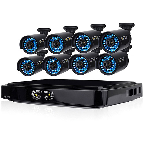 Night Owl B-A720-81-8 8-Channel Smart HD Video Security System with 1TB HDD and 8 x 720p HD Cameras