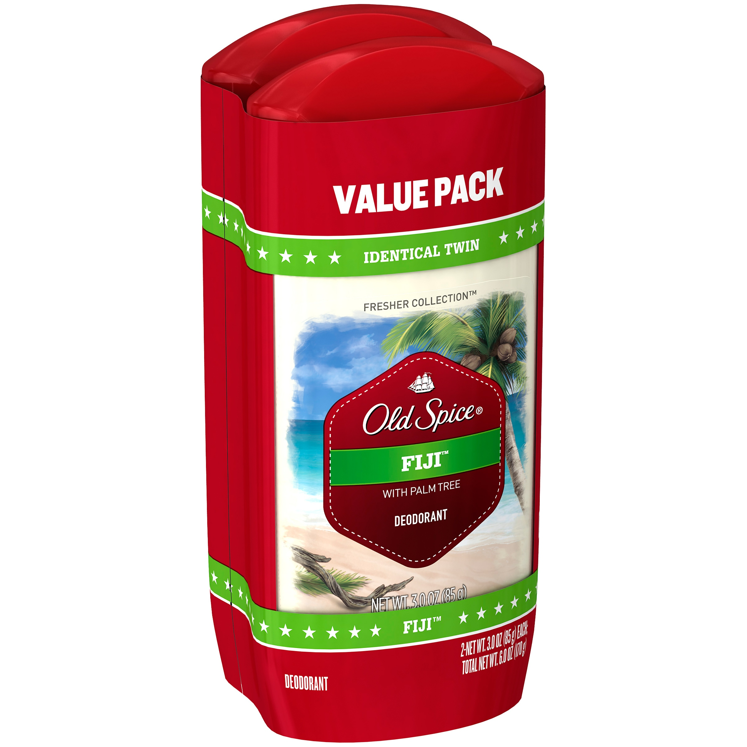 Old Spice® Fresher Collection™ Fiji™ Deodorant 2-3 oz. Sticks
