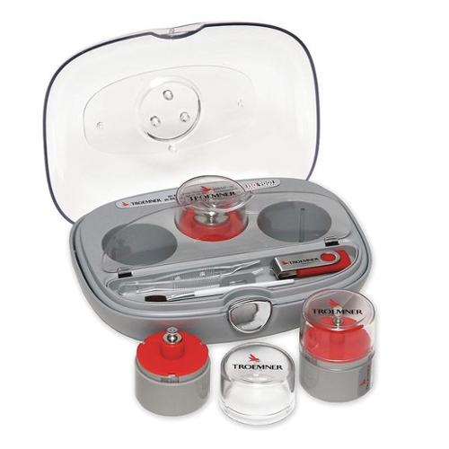 TROEMNER 7255-1W Calibration Weight Set, Metric, 100g-200mg