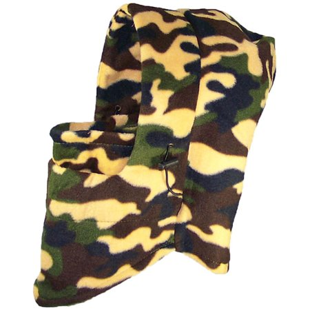 Best Winter Hats Adult Winter Soft Fleece Tactical Hood Balaclava (One Size) -