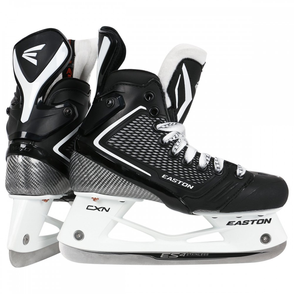 New Easton Mako M7 Junior IHS Ice Hockey Skates JR Size 4 D Heat Moldable by Easton