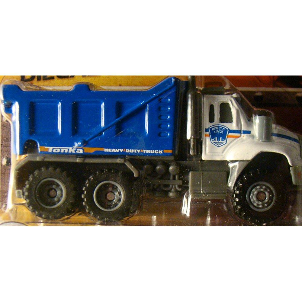 tonka metal diecast bodies construction crew city dump truck
