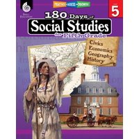 180 Days of Practice: 180 Days of Social Studies for Fifth Grade: Practice, Assess, Diagnose (Paperback)