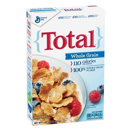 Total Whole Grain Breakfast Cereal  Original  16 Oz
