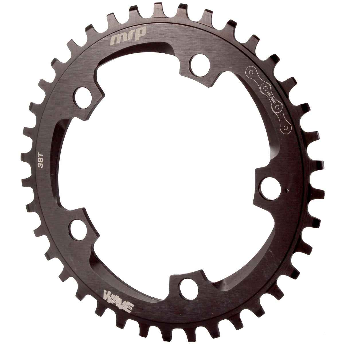 MRP Wave Cx Chainring, 110 BCD38T - Black - 23-1-038