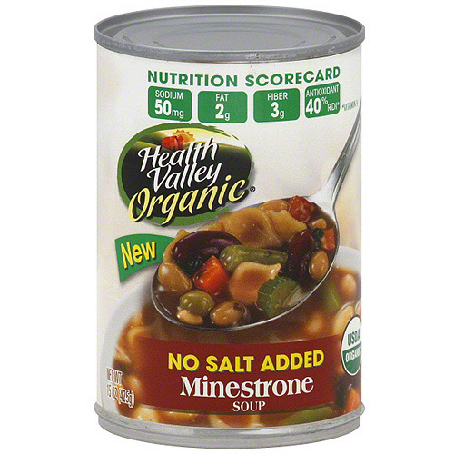 Health Valley Minestrone Soup, 15 oz (Pack of 12)