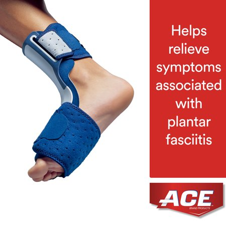 Brand Plantar Fasciitis Sleep Support, Adjustable, Navy,