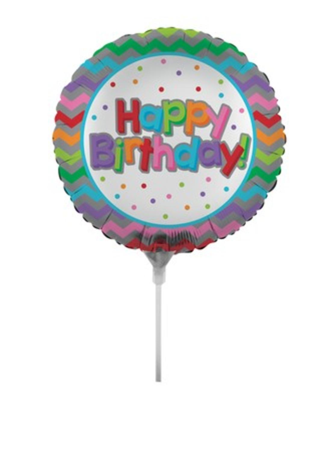 Birthday Party Decoration Pack of 5-18/'/' Foil Round Candy Lollipop Balloons