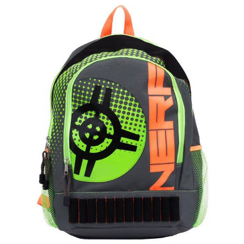"16"" Nerf Amped Neon Full Size Backpack"