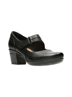 Clarks Emslie Lulin Black 9 C - Wide