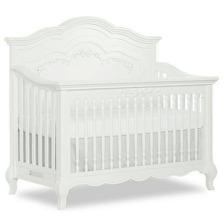 Evolur Aurora 5 in 1 Convertible Crib (Aurora Mattress)
