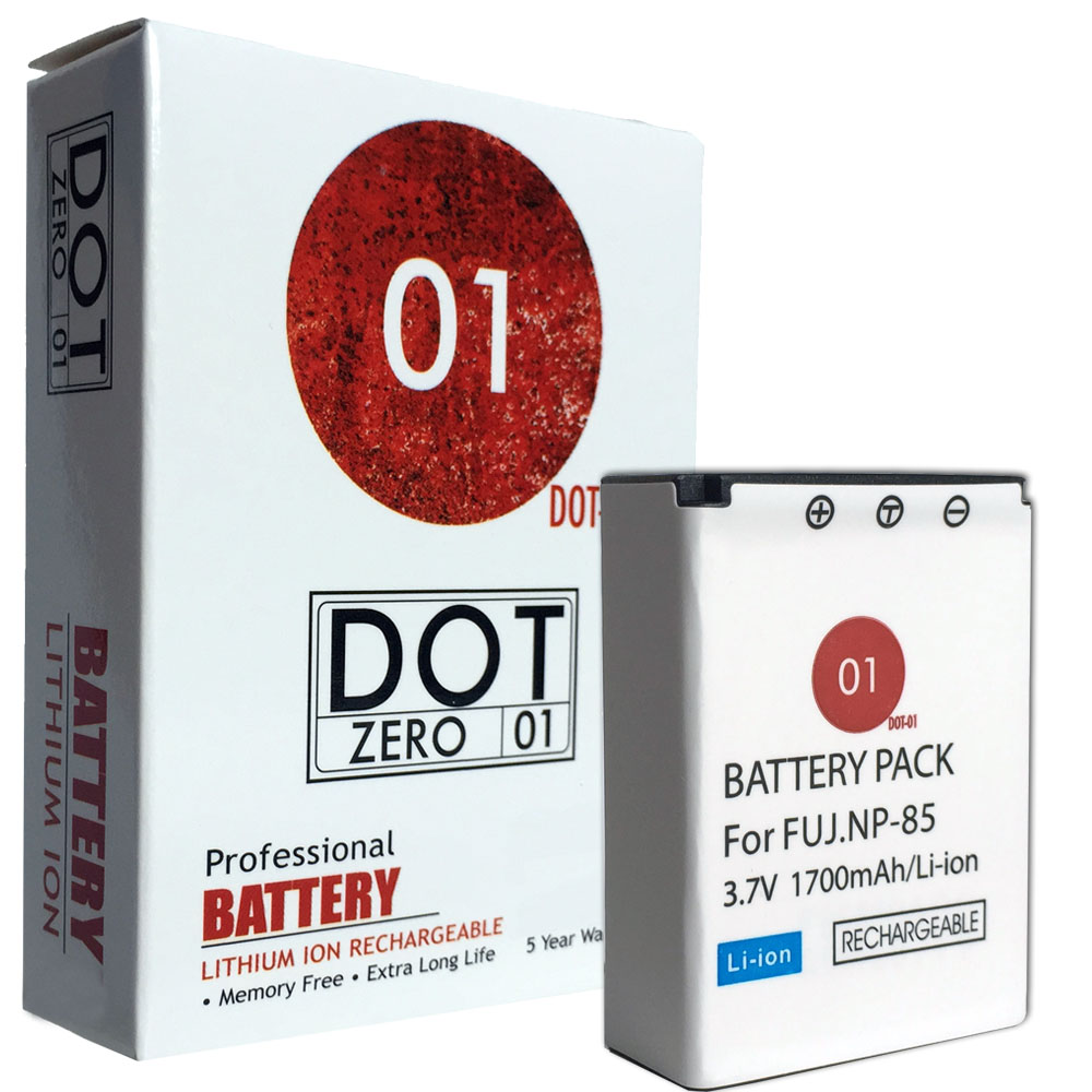 DOT-01 Brand 1700 mAh Replacement Fujifilm NP-85 Battery for Fujifilm SL300 Digital Camera and Fujifilm NP85