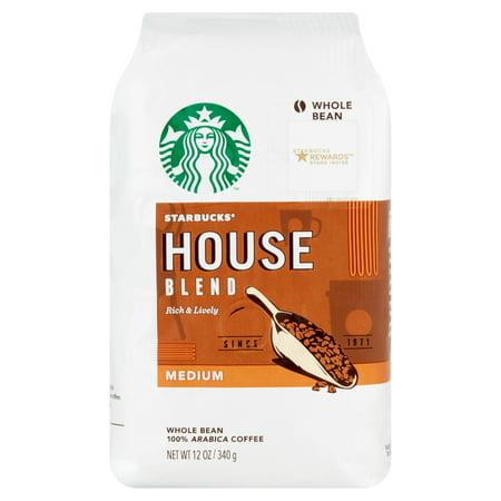 Starbucks® Medium House Blend Whole Bean Coffee 12 oz.