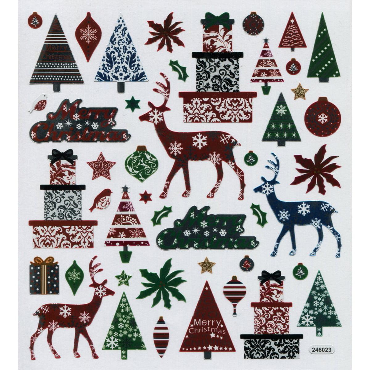 Multicolored Stickers-Christmas Magic - image 1 de 1