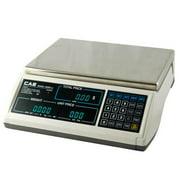 CAS JR-S-2000-60 Price Computing Scale VFD Display  60 x 0 01 lb