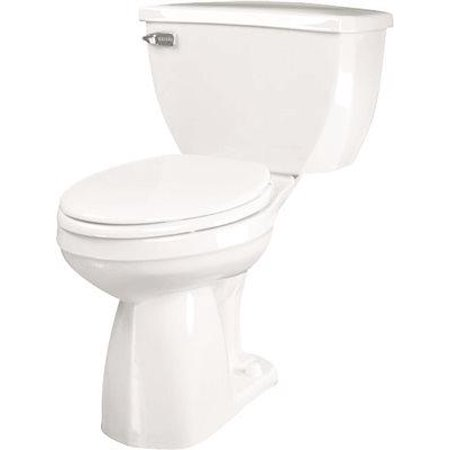 Gerber Ultra Flush Watersense Siphon Jet Toilet Bowl With Round Front, White, 1.6