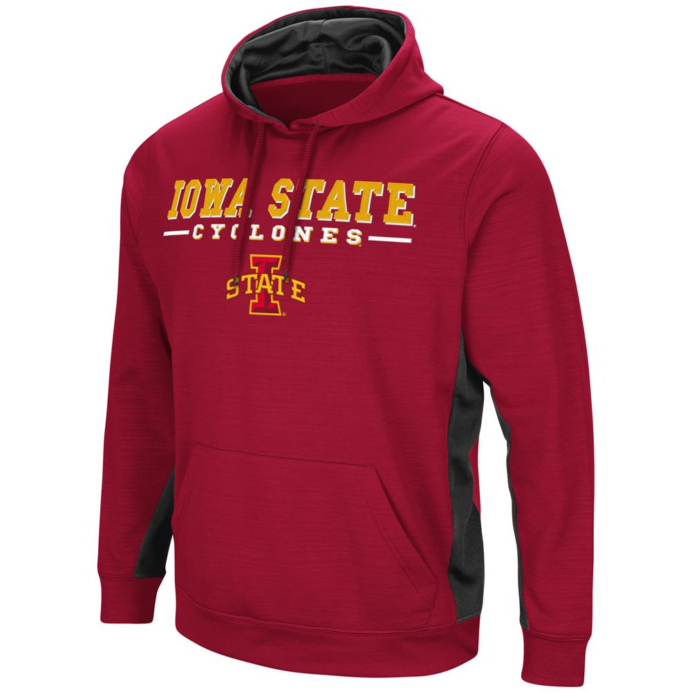 Iowa State Cyclones Hoodie Performance Fleece Pullover Jacket