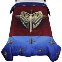 DC Comics Wonder Woman Twin Comforter Themyscira Bedding