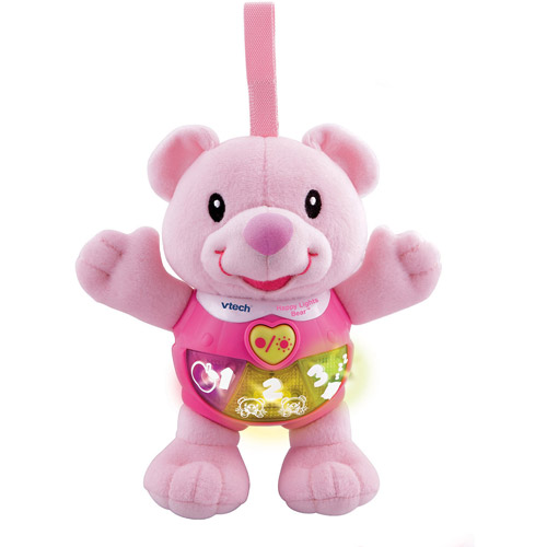 Vtech Happy Lights Bear Learning Toy, Pink