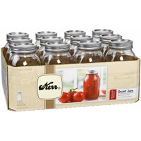 12-Pack Kerr Regular Mouth 32oz Quart Mason Jars + $5.12 Kmart Credit