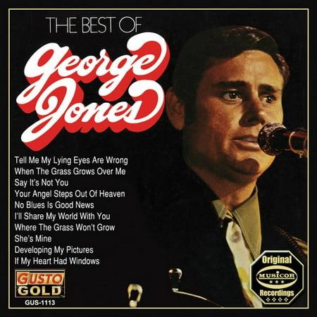 Best Of George Jones (CD) (George Best Funeral Music)