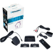 SiriusXM SXDH3 Satellite Radio Home Dock Kit with Antenna and Charging Cable (Black)