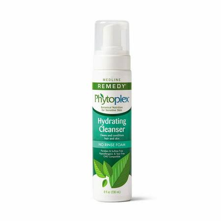 Medline Remedy Phytoplex Hydrating Cleansing Foam  8 Oz