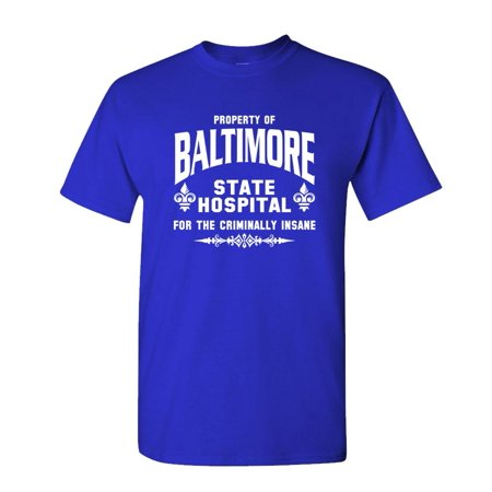 BALTIMORE STATE HOSPITAL - hannibal silence - Cotton Unisex