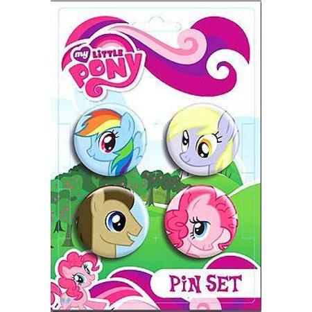 My Little Pony Ponies Pin Set (Pony Pie)