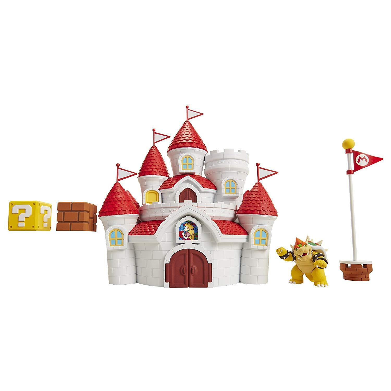 Nintendo Super Mario Mushroom Kingdom Castle Playset With