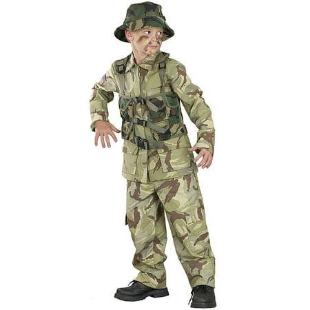Delta Force Commando Childrens Costume