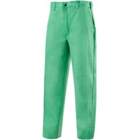 Tillman 6700WC 36x34 Welding Pouring Pants Westex Whipcord Green 36 x 34 6700 ()