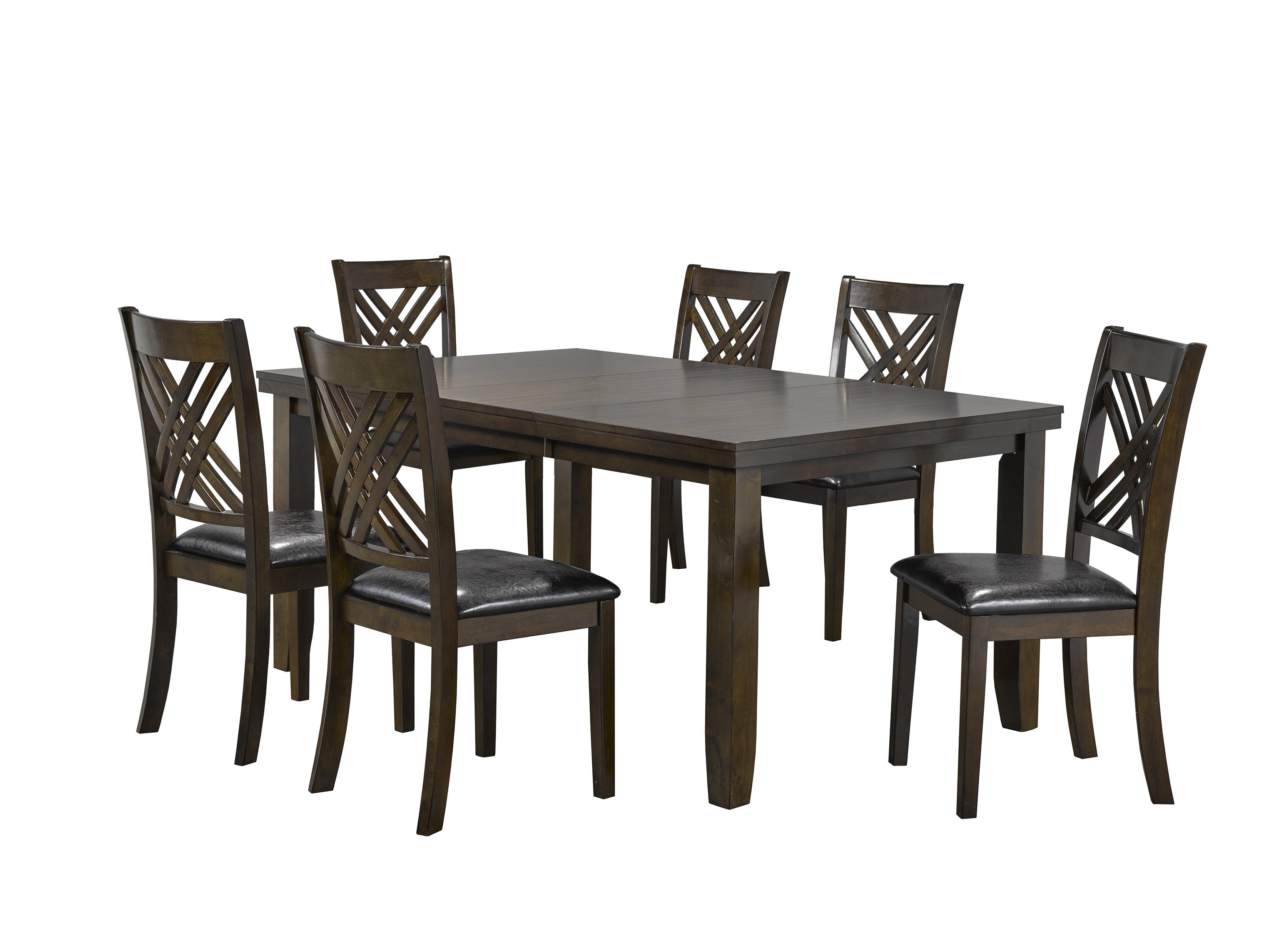Elliott 7-Piece Dining Room Set by Brassex Inc