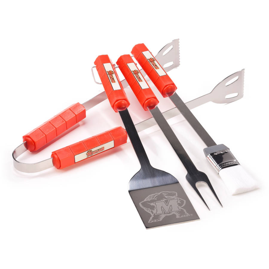 Maryland Terrapins 4-Piece BBQ Set