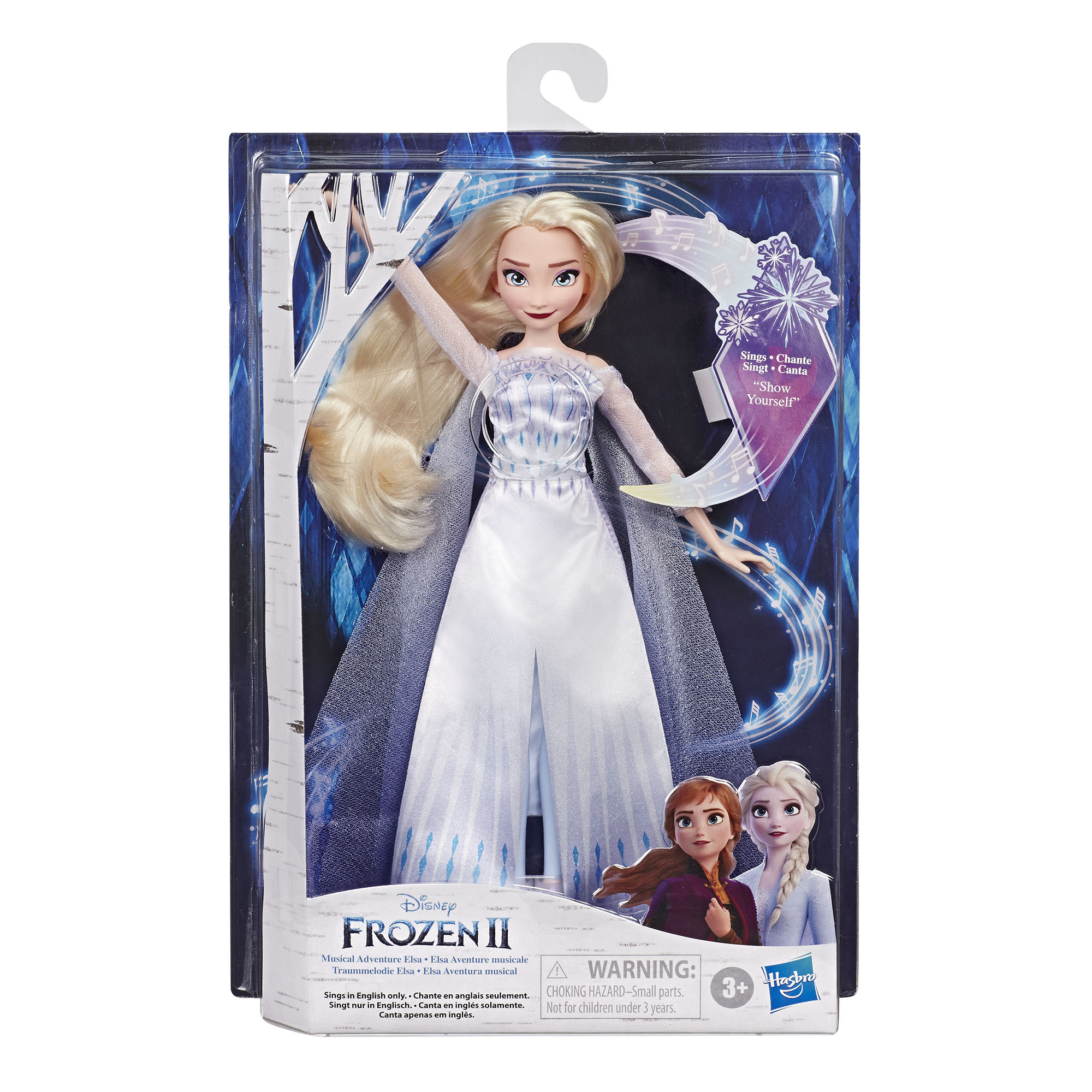 Disney Frozen 2 Singing Elsa Plush Doll