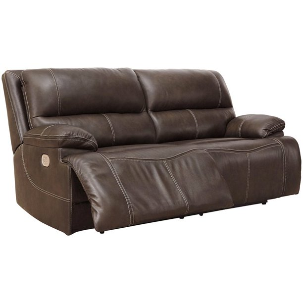 Ricmen Leather Reclining Sofa