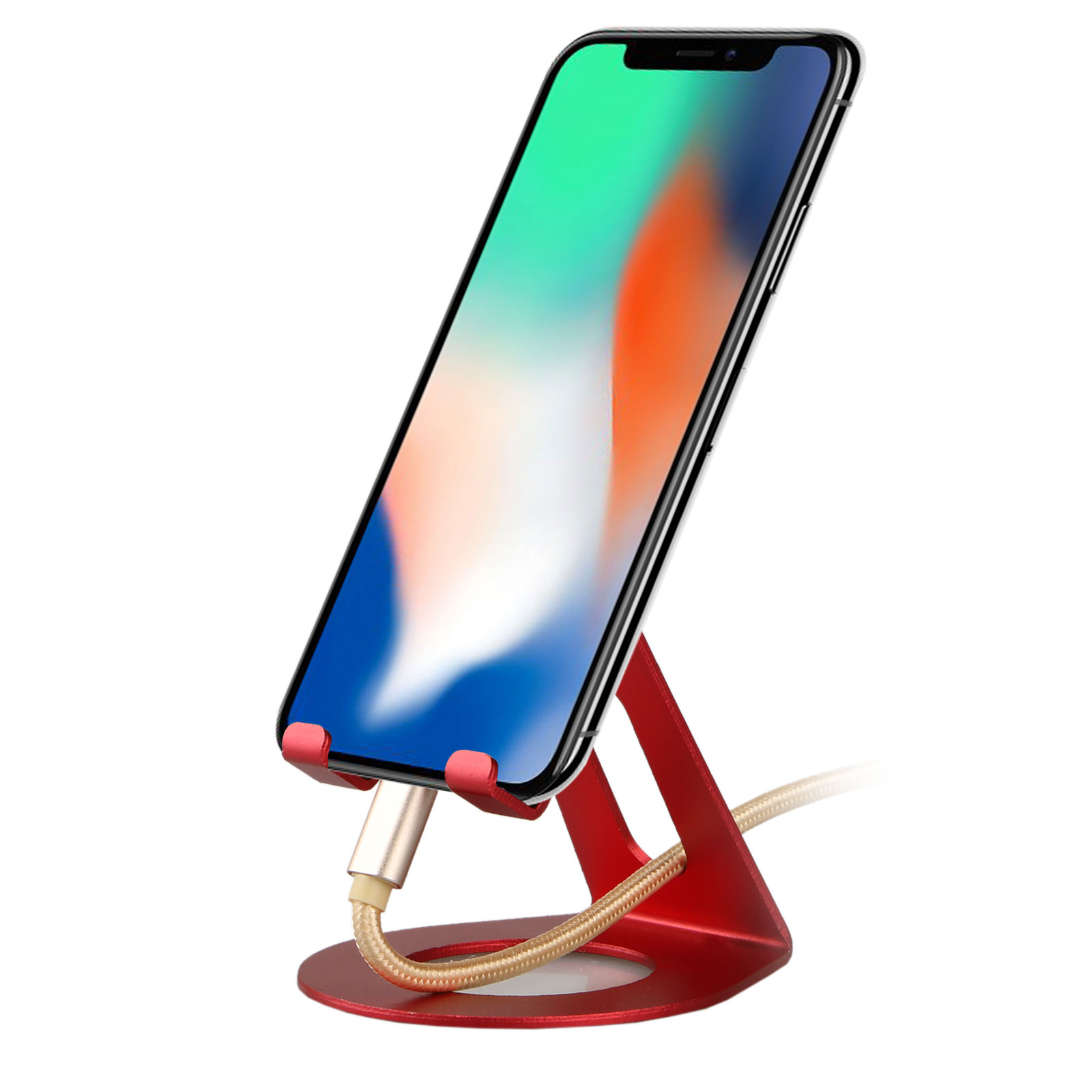 Universal Aluminum Desktop Desk Stand Thin Holder Mount for Cell Phone Tablet