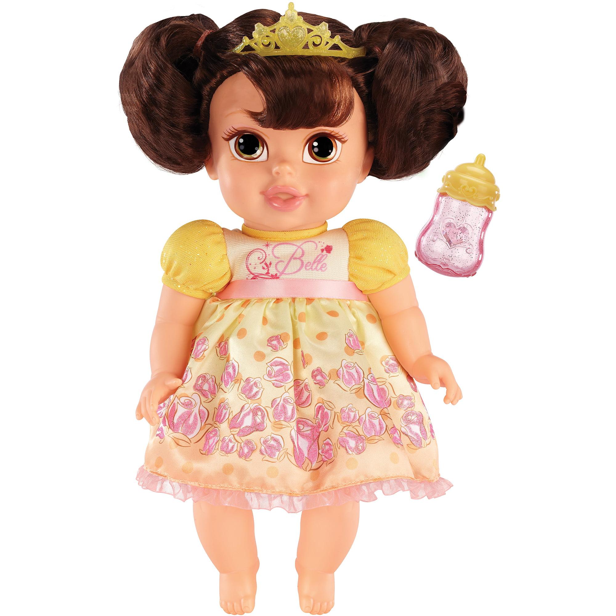 Amazon Com Disney Princess Baby Belle Doll Toys Games: Disney Princess Deluxe Baby Doll, Belle