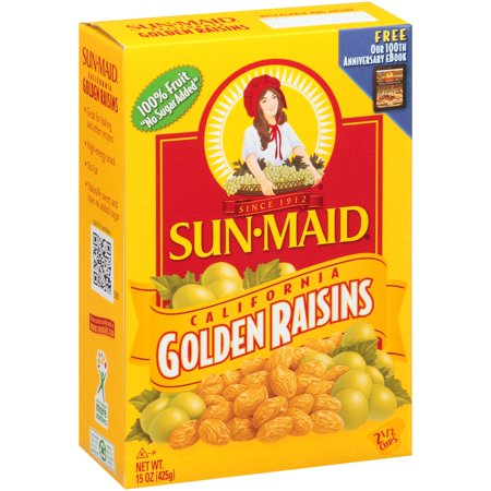 Sun-Maid California Golden Raisins, 15.0 Oz