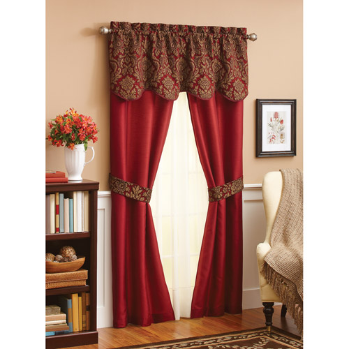 Lovely Better Homes And Gardens Chenille Curtain Panel Set