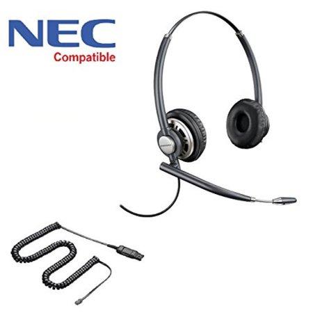 NEC Compatible Plantronics EncorePro 720 Headset Bundle