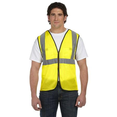 Value Mesh Five-Point Breakaway Vest Class 2 Cool Mesh Breakaway Vest